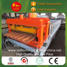Máquina para fazer telhas esmaltadas