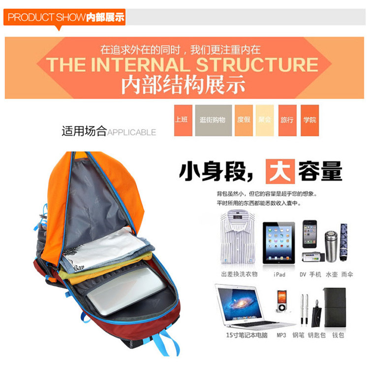 Women Or Man Waterproof Backpack