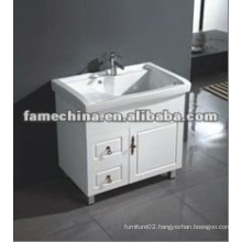 2012 Floor Stand White Waterproof Laundry Cabinet