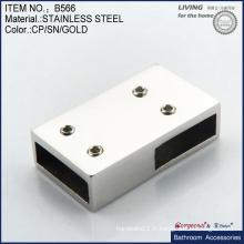 Support de suspension / barre de suspension en acier inoxydable pour les accessoires de salle de bains