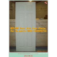 Linyi mejor MDF / HDF Puerta piel con precio barato