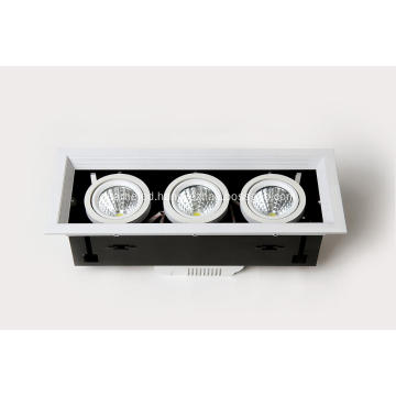 Glass ceiling light 90W High Power 110V-260V COB LED bean light aluminum heatsink