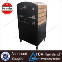 Gebrauchte Pizza Backöfen für Verkauf und Bäckerei Ausrüstung Middle 2-Layer Wood Fired Oven
