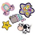 Emblemas de bordados de roupas adesivos de apliques adesivos de roupas