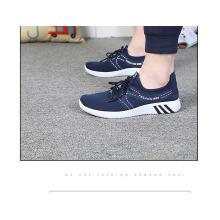 El uso al por mayor de la escuela respira libremente el zapato del niño de la tela del cordón