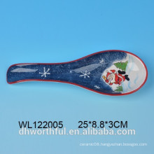 Christmas Santa Clause dolomite spoon rest