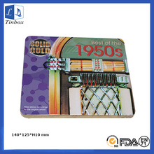 Новый дизайн CD / DVD Tin Box