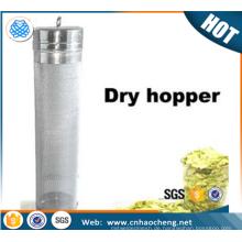 300 Mikron Hausgebraut Bier Corny Keg / trocken Hopper Filter für ganze Blatt Hopfen
