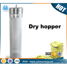300 micron Home brew beer corny keg /dry hopper filter for whole leaf hops