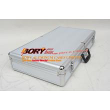 21 Inch Interchangeable E Series 360 Rotation Aluminum 3 Extendable Tier Train Case Cosmetic Storage Organizer Professional