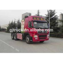 Dayun marca 6x4 unidad tractor cabeza camión para mercancías peligrosas de remolque