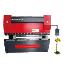 CNC máquina de doblado de metal CNC hidráulica prensa freno