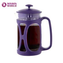 Bpa бесплатно многоразовые термостойкие Пластиковые кофе жрать с фильтром из нержавеющей стали