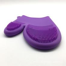 Термостойкие многоразовые силиконовые перчатки