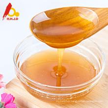 Pure organic raw polyflower bee honey