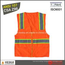 Hi-Vis Security Reflective Running Safety Vest