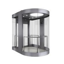 Панорамный лифт со стеклянной кабиной для осмотра достопримечательностей
