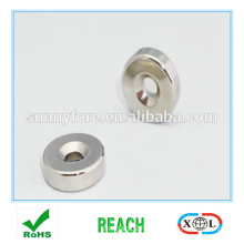 countersunk nickel coating round magnet hole
