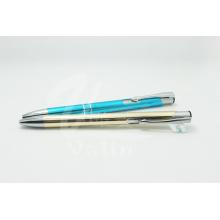 Promotion Aluminium Klick Pen mit Silber String
