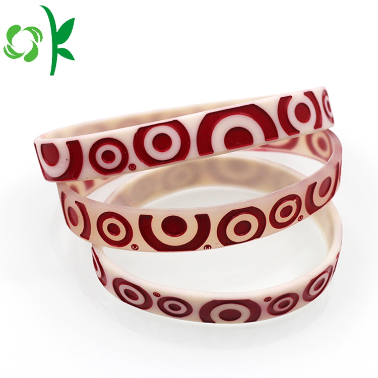 Wine Red Silicone Bracelet
