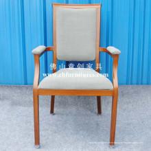 Имитированное деревянное кресло с удобным толстым подлокотником (YC-E65-04)