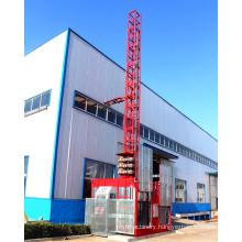 China Construction Building Manufacturer Double Cages Building Hoist