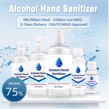Безводное антибактериальное спиртовое дезинфицирующее средство для рук