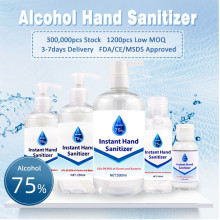 Waterless Antibacterial Alcohol Hand Sanitizer