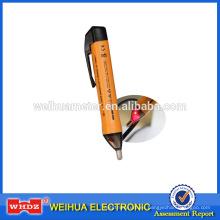 Detector de voltaje sin contacto Probador de voltaje de inducción con alarma de sonido y luz Probador de voltaje con apagado automático VD03