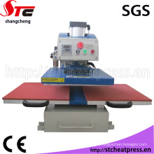 Pneumatic T-Shirt Painting Heat Press Printing Machine