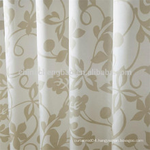 Custom aluminum rail european style shower curtain