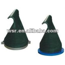 válvulas de retenção de compressão Duck-Bill-Rubber