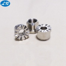 Aluminum anodizing turning lathe CNC detecting bushing