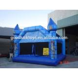 2017 hot sale inflatable brick bounce house