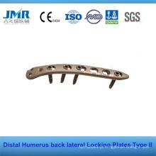 Distal Humerus Lateral Voltar Bloqueio Placa LCP Placa
