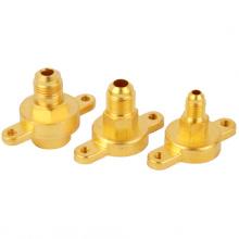 Aire acondicionado Componentes de latón Tuercas de latón