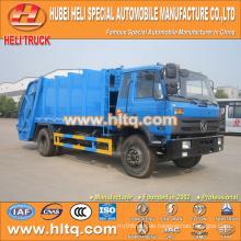 DONGFENG 4x2 12 M3 Abfall Hecklader LKW mit Pressmechanismus Dieselmotor 190 PS