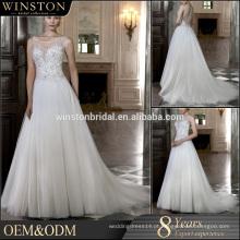 OEM ODM personalizado vestido de noiva vestido de noiva