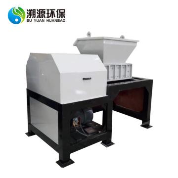Máquina trituradora de vidrio trituradora de dos ejes