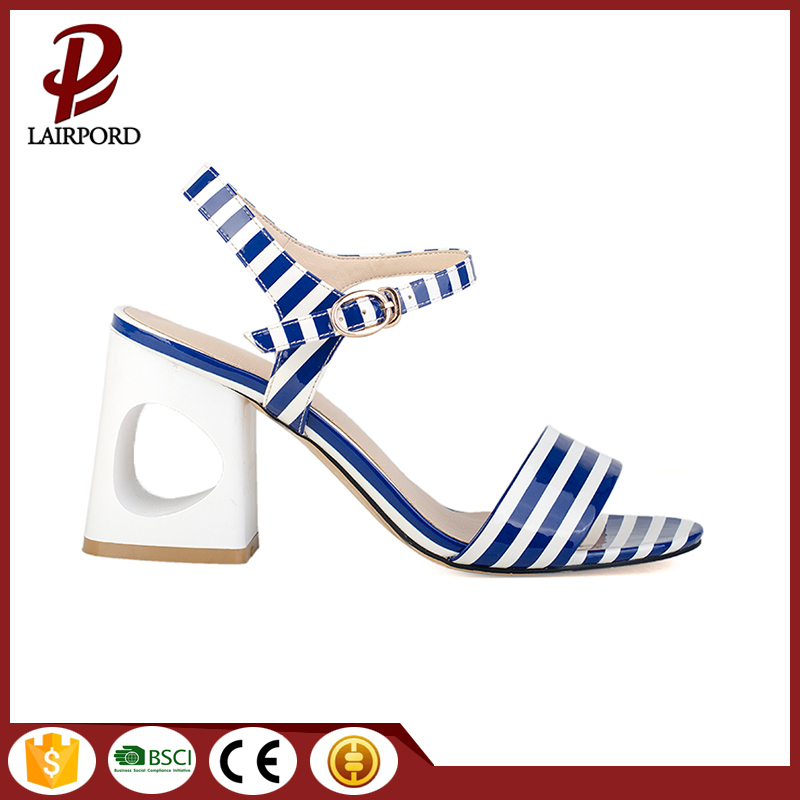 special hole in heel good quality sandals
