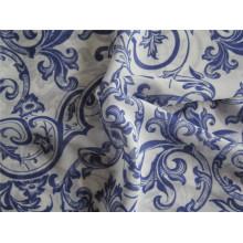 Tecido impresso em chiffon de poliéster para o vestido