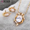 62581-Xuping Hot article promotionnel ensemble de bijoux en plaqué or bijoux