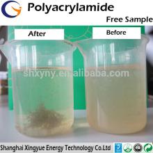 Produits chimiques de traitement de l'eau anionique / cation polyacrylamide prix concurrentiel polyacrylamide