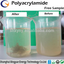Water treatment chemicals anionic/cation polyacrylamide competitive polyacrylamide price