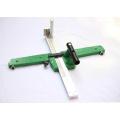 PVC-Plastikbodenbelag-Installations-Werkzeuge, die Bodenstreifen-Schneider schneiden
