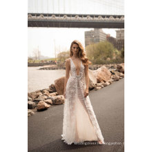 Sexy Lace Bridal Evening Gowns Wedding Dress