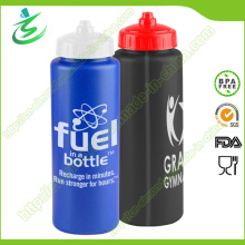 900ml PE New Plastic Sport Bottle for Bike Travelling