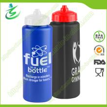 900 мл PE Новая пластиковая спортивная бутылка для велосипедного путешествия