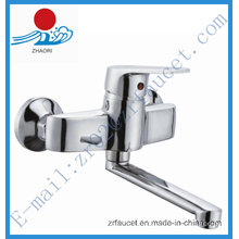 Single Handle Brass Kitchen Faucet in Sanitary Ware (ZR20803-1)