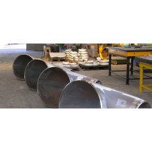 ASTM A420 Courbe en acier sans soudure
